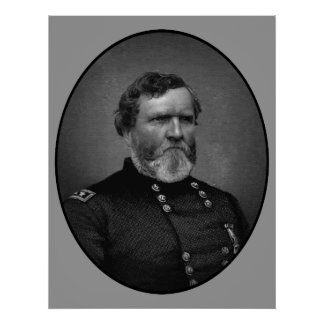 General Thomas Painting Póster
