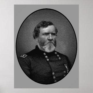 General Thomas Painting Poster