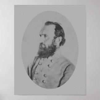 "General Thomas ""Stonewall"" Jackson Póster"