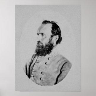 """General Thomas """"Stonewall"""" Jackson Poster"""