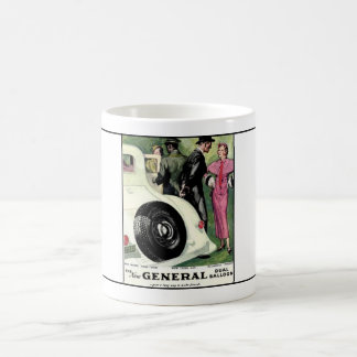 General Tire year 1933  ad.1 Classic White Coffee Mug