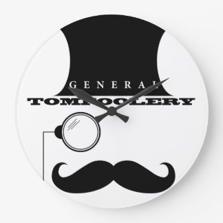 General Tomfoolery Wall Clock