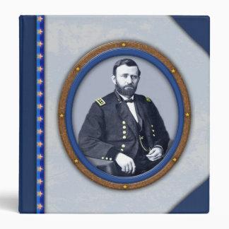 """General Ulises S. Grant Binder Carpeta 1 1/2"""""""