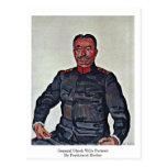 General Ulrich Wille Portrait By Ferdinand Hodler Tarjetas Postales