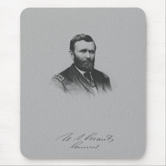 General Ulysses S. Grant And His Signature Mouse Pad