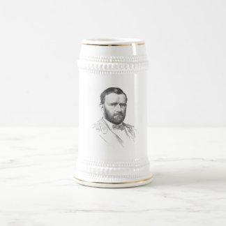 General Ulysses S. Grant -- Civil War Beer Stein