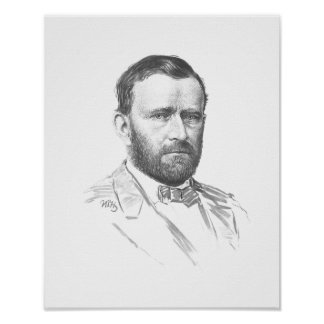 General Ulysses S. Grant -- Civil War Poster