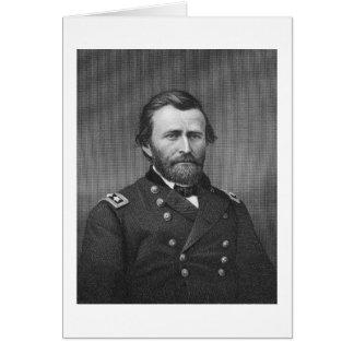 General Ulysses Simpson Grant, engraved after a da Card
