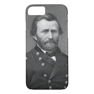 General Ulysses Simpson Grant, engraved after a da iPhone 8/7 Case