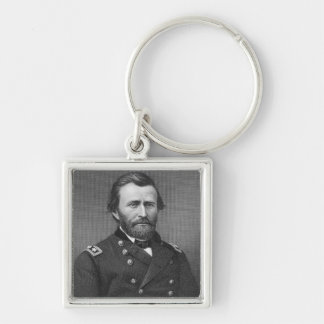 General Ulysses Simpson Grant, engraved after a da Keychain