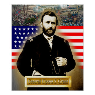 General Ulyssess S. Grant Poster