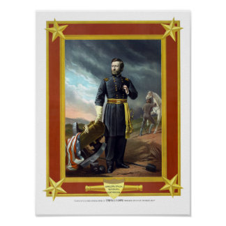 General US Grant Poster
