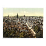 General view and High Street, Oxford, England clas Post Cards