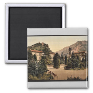 General view, Arco, Garda, Lake of, Italy vintage Refrigerator Magnets