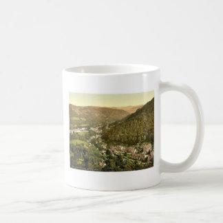General view, Bettws-y-Coed (i.e. Betws), Wales ra Classic White Coffee Mug
