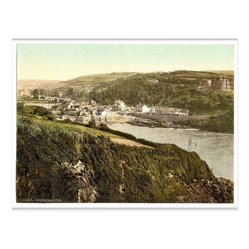 General view, Combemartin i.e., Combe Martin, Engl Postcard