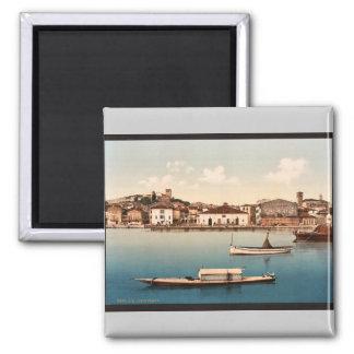 General view, Desenzano, Garda, Lake of, Italy vin Magnets