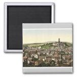 General view, Dillenburg, Hesse-Nassau, Germany cl Fridge Magnet