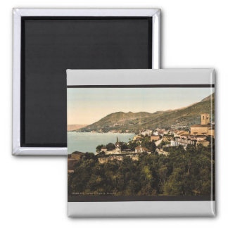 General view, Fasano, Garda, Lake of, Italy vintag Magnet