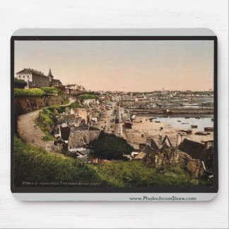 General view from Cape Lihou Granville France vi Mouse Pad