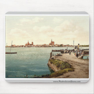 """General view, from the """"Alte Fahre"""", Stralsund, Po Mouse Pad"""