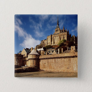 General view from the base of the ramparts pinback button