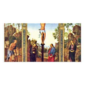 General View Galitzine Triptych Crucifixion With M Photo Cards