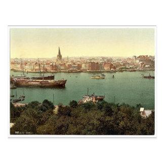 General view, Kiel, Schleswig-Holstein, Germany cl Postcard