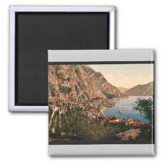 General view, Limone, Garda, Lake of, Italy vintag Fridge Magnet