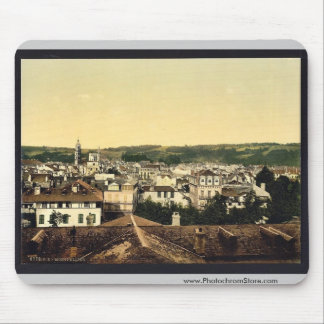 General view, Montpelier, France vintage Photochro Mousepads