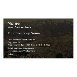 General view, Mount Hermon, Holy Land (i.e., Leban Business Cards