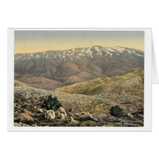 General view, Mount Hermon, Holy Land (i.e., Leban Cards