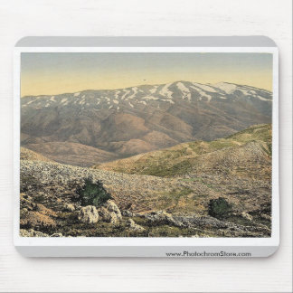 General view, Mount Hermon, Holy Land (i.e., Leban Mouse Pad