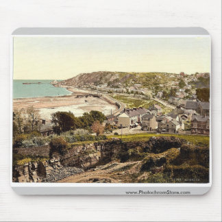General view, Mumbles, Wales rare Photochrom Mouse Pad