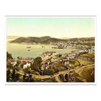 General view, Oban, Scotland classic Photochrom Postcard