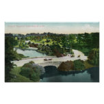 General View of Franklin Park Print