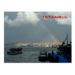 General View of Istanbul Postcard