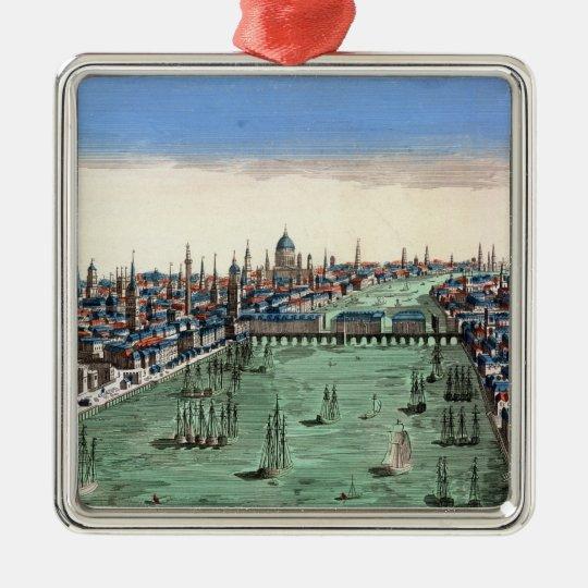 General View of London Metal Ornament