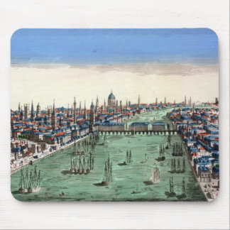 General View of London Mouse Pad