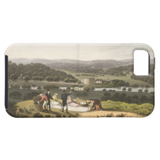 General View of Longleat from the Prospect Hill, f iPhone SE/5/5s Case