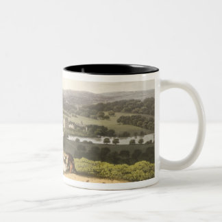 General View of Longleat from the Prospect Hill, f Two-Tone Coffee Mug