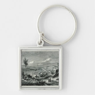 General View of Messina Keychain