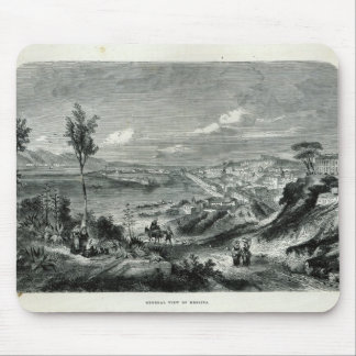 General View of Messina Mouse Pad
