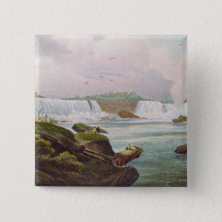 General View of Niagara Falls from Canadian Side Pinback Button