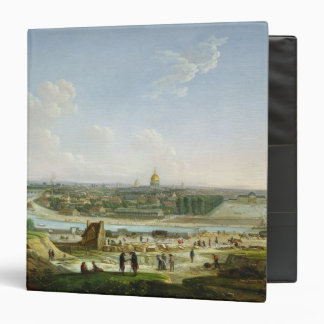 General View of Paris from the Chaillot Hill 3 Ring Binder