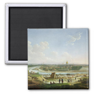 General View of Paris from the Chaillot Hill Magnet