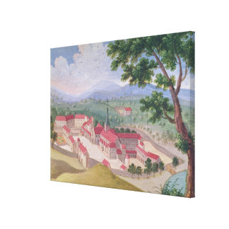 General view of the Abbey from the east Canvas Print