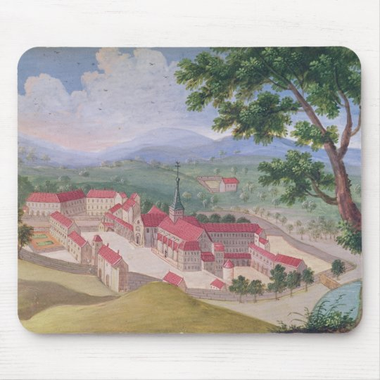 General view of the Abbey from the east Mouse Pad