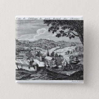 General view of the Abbey of Port-Royal des Pinback Button