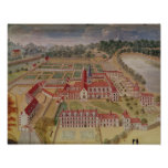 General View of the Abbey Print